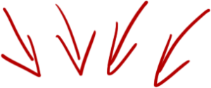 flèche pour inscription coaching